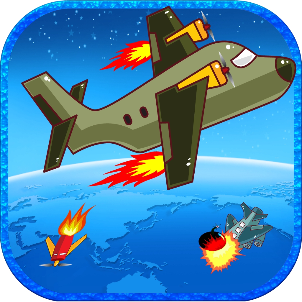 Airplane Shooting Fight Adventure - Night Sky Airplay Attack Pro